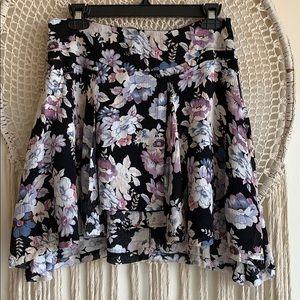 Free People Floral mini Skirt. 6